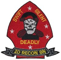 2D RECON BATTALION 2ND SECOND PATCH RECONNAISSANCE USMC MARINE CORPS