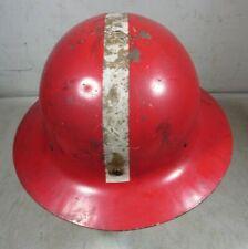 Vintage/Antique WWII Era O.C.D. Steel FDNY Helmet Firefighter 1940's New York