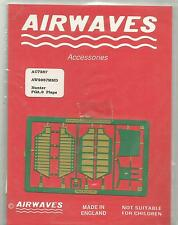 Airwaves etched metal 72-87 Hawker Hunter FGA.9 flaps set in 1:72 Scale