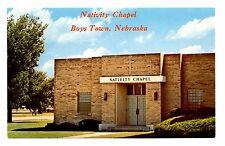 Nativity Chapel Boys Town Nebraska Postcard Non Sectarian Protestant Minister