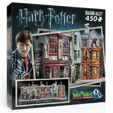 Harry Potter Hogwarts di Diagon Alley Wrebbit 3D Puzzle