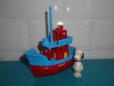 Figurine Super maxi kinder ancien MAXI 94 BATEAU DE SNOOPY
