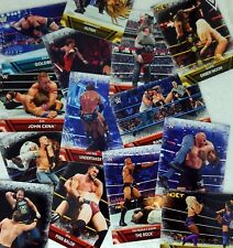 """WWE 2017 THEN NOW FOREVER """" FINISHISHERS & SIGNATURE MOVES Card Sub Set of 50"""