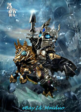 Lich King Arthas Statue Lighting Figurine Resin Model Banma studio 22cm presale