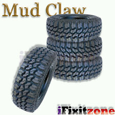 4 Mud Claw Extreme MT 35x12.50R18LT 123Q E All Terrain Performance Mud Tires