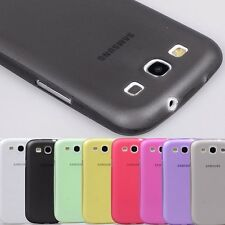 Untra Thin 0.5mm Matte Pc Case Cover Skin for Samsung Galaxy S 3 SIII I9300