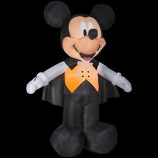 Life Size Inflatable Disney Mickey Vampire W/ Lights and Easy Set Up, Halloween