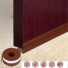 5M Door Seal Strip Weather Stripping Self Adhesive Rubber Bottom Sweep Stopper