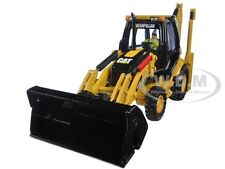 CAT CATERPILLAR 432E SIDE SHIFT BACKHOE LOADER 1/50 BY DIECAST MASTERS 85149 C