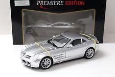 1:18 Maisto Mercedes SLR McLaren-STANDOX Silver New chez Premium-modelcars
