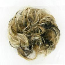bollo en el cabello coletero rubio Luz poli claro cobre de malla y c 17/15613h4