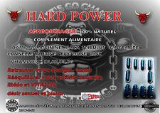 Aphrodisiaque puissant pour homme 20 pills hard power, stimulant sexuel, discret
