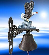 Wand Glocke Adler Eisenguss Antike Dekoration See Adler Türdekoration Türklopfer