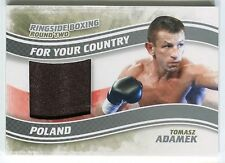 Tomasz Adamek 2011 Ringside Boxing 2 For Your Country Trunks /50 *AA407