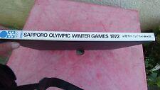 Sapporo Olympic Winter Games 1972 Nihon Sha livre officiel Annie Famose