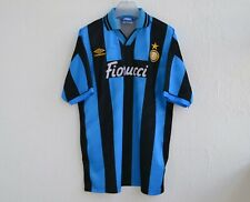 INTER MILAN 1994/1995 HOME FOOTBALL #17 PLAYER ISSUE SHIRT JERSEY UMBRO VINTAGE