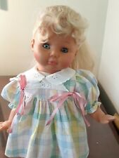 "17"" Zapf all vinyl doll, excellent condition, beautiful outfit."