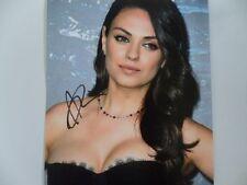 Mila Kunis 8x10 Signed Photo Auto