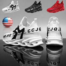 New listing Breathable Men's Running Walking Tennis Shoes Comfortable Casual Gym Sneakers US