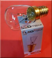 Backofenlampe 40W E14 Glühlampe 40 Watt bis 300° Doppelwendel Glühbirne UVP