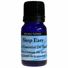 Sleep Easy Aromatherapy Essential Oil Blend 10ml Chamomile Clary Sage Bergamot