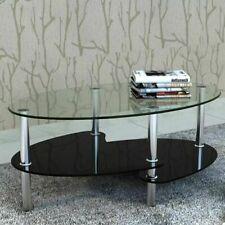 vidaXL 240509 Coffee Table - Black