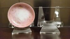 "~5 Premium 2-3/8"" Display Stand Easel Plates Saucer Dishes China Dinnerware Tile"