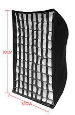 Brand NEW Photo studio strobe Flash light 60cmX90cm Honeycomb softbox umbrella