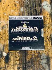 Psp National Treasure 2 Movie In Cardboard Sleeve
