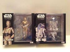 Star Wars Kaiyodo Revo Revoltech R2-D2 & C-3PO action figures MIP U.S. seller
