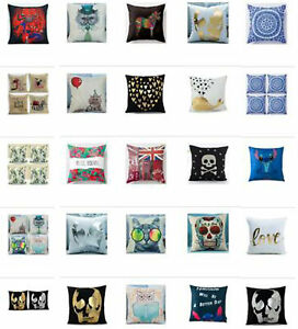 UK Random 10 PCS Pillow Cases Cushion Covers Of Our Store Clearance price