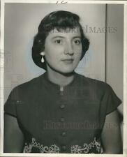 Press Photo Miss Joan Macaluso of New Orleans - noo43579