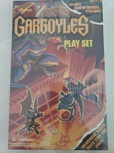 GARGOYLES COLORFORMS PLAYSET 1995 GLOW IN THE DARK! BRAND NEW MINT IN BOX! MIB