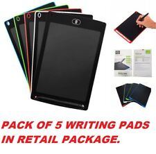 LOT 5 LCD Writing Tablet e-Writer Drawing Memo Message Boogie Board 8.5 Inch NEW