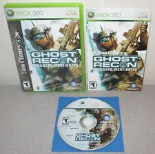 TOM CLANCY'S Ghost Recon Advanced Warfighter XBOX 360 Tactical Complete w/Manual