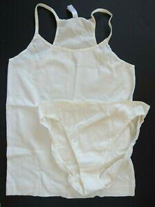 Gilligan O'Malley VINTAGE 2003 High Cut Soft Brief Panties & Cami Lot SZ 9 XXXL