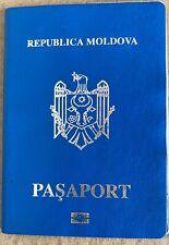 Moldova Biometric Travel Document For  A Boy
