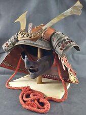 Japanese samurai armor  helmet ( kabuto)+face mask(menpo)