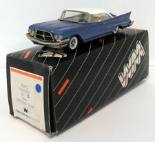 Kims Classics By Western 1/43 Scale No.1B - 1960 Chrysler 300F - Blue White