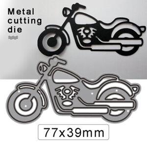 Motorrad Stanzschablone Cutting dies Weihnachten Element Schablonen Scrapbooking