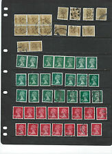 Great Britain-Machins-Used-Coll ection-Some Better