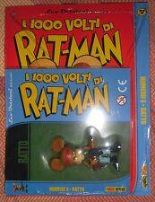 I Mille 1000 Volti Di RAT-MAN 5 Albetto + Statua RATTO Rambo Leo Ortolani
