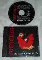 ANDREA BOCELLI Romanza CD 1997 Philips Sugar