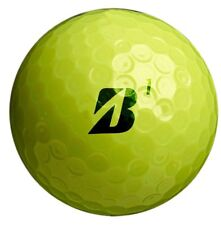 1 DOZEN (12) Yellow! BRIDGESTONE B330X Tour GOLF BALLS - Flawless/Mint AAAAA