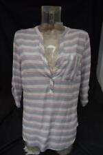Women's Papaya 3/4 Sleeve Blouse Shirt/Top Purple/Pink Striped UK 10 BNWT LotW17