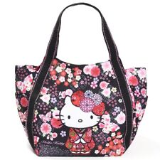 HELLO KITTY TOTE BAG MOTHER'S BAG KIMONO SAKURA JAPANESE PATTERN SANRIO JAPAN