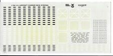 Gold Medal Models, US Aircraft Carrier Deck Striping, Details 1/700, No Instr.