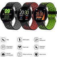 Smartwatch Sports Fitness Tracker Armbanduhr für Samsung iPhone Huawei Moto E G