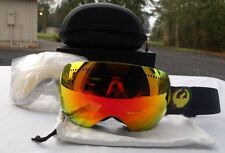 2015 NIB DRAGON APX RASTA/RED IONIZED GOGGLES EXTRA YELLOW BLUE LENS $200