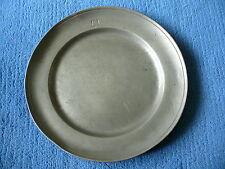 Zinnteller Teller aus Zinn ca. 200 Jahre alt